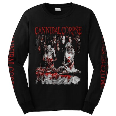CANNIBAL CORPSE - 'Butchered At Birth (Explicit)' Long Sleeve