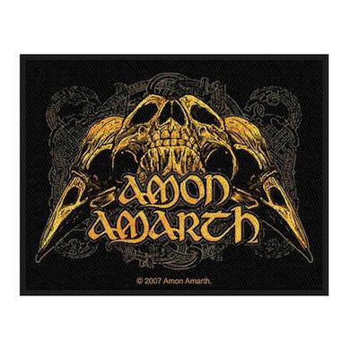 AMON AMARTH - 'Raven Skull' Patch