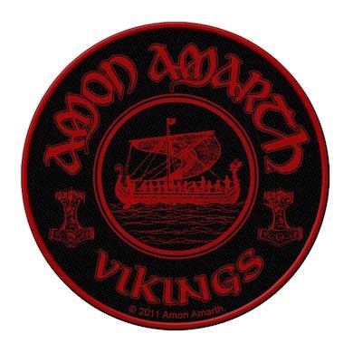 AMON AMARTH - 'Vikings Circular' Patch