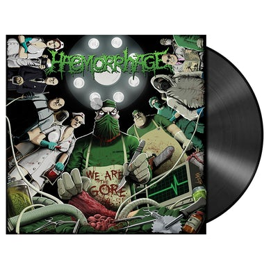HAEMORRHAGE - 'We Are The Gore' LP (Vinyl)