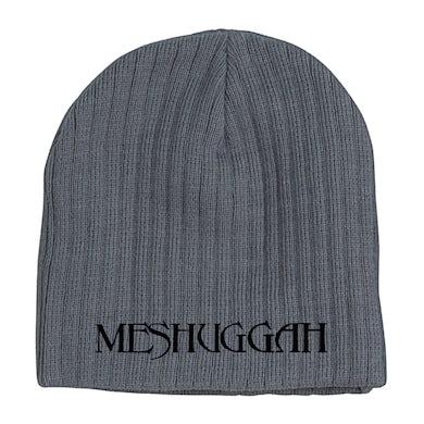 MESHUGGAH - 'Logo' Grey Skull Cap Beanie