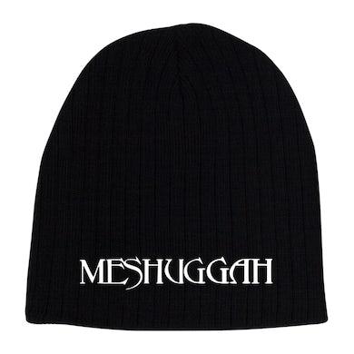 MESHUGGAH - 'Logo' Black Skull Cap Beanie