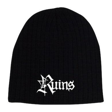 RUINS - 'Logo' Skull Cap Beanie