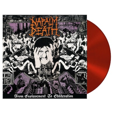 NAPALM DEATH - 'From Enslavement To Obliteration' LP (Vinyl)