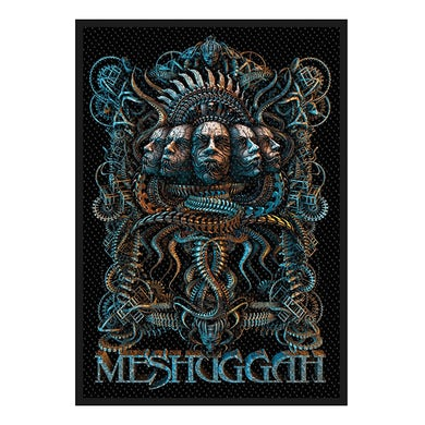 MESHUGGAH - '5 Faces' Patch