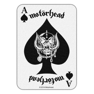Motorhead MOTÖRHEAD - 'Ace Of Spades Card' Patch