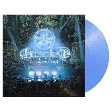 'Clandestine Live' Blue 2xLP (Vinyl)
