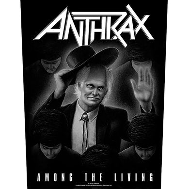 ANTHRAX - 'Among The Living' Back Patch