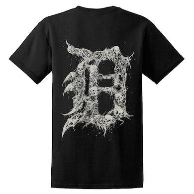 THE BLACK DAHLIA MURDER - 'Detroit' Black T-Shirt