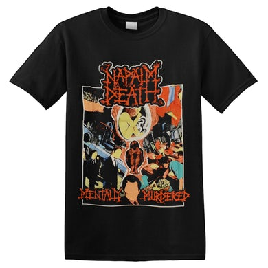 NAPALM DEATH - 'Mentally Murdered' T-Shirt