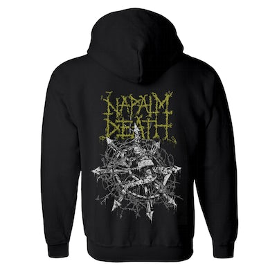 NAPALM DEATH - 'Chaos' Zip-Up Hoodie