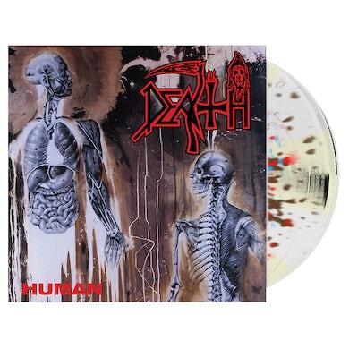 DEATH - 'Human' Splatter LP (Vinyl)