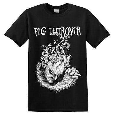 PIG DESTROYER - 'Jef Whitehead Design' T-Shirt