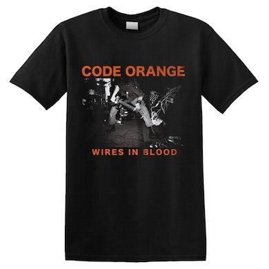 CODE ORANGE - 'Wires In Blood' T-Shirt