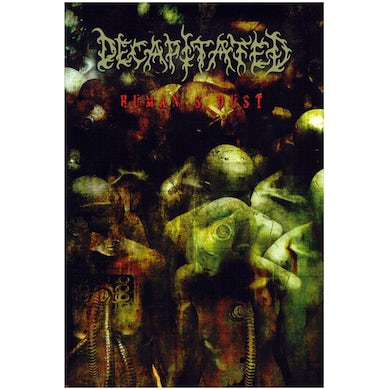 DECAPITATED - 'Humans Dust' DVD