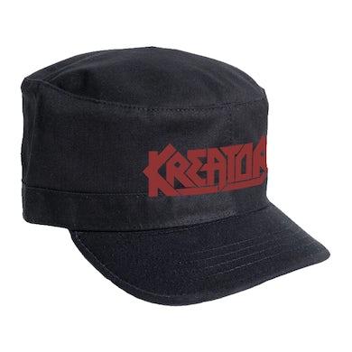 KREATOR - 'Logo' Army Cap
