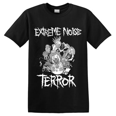 EXTREME NOISE TERROR - 'In It For Life' T-Shirt