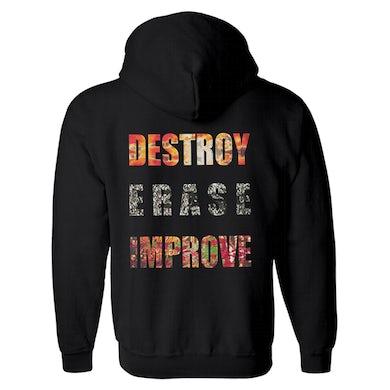 MESHUGGAH - 'Destroy Erase Improve' Zip-Up Hoodie