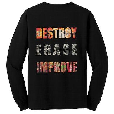 MESHUGGAH - 'Destroy Erase Improve' Long Sleeve