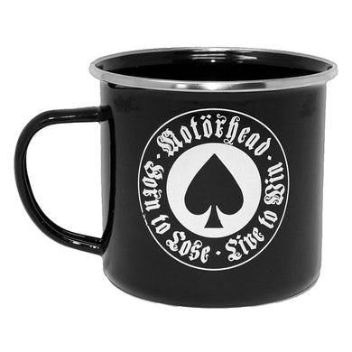 Motorhead MOTÖRHEAD - 'Born to Lose' Enamel Mug