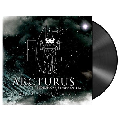 ARCTURUS - 'Sideshow Symphonies (Re-issue)' LP+DVD