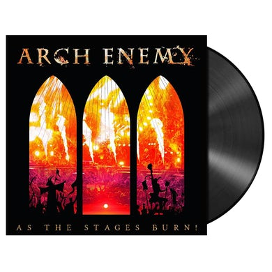 ARCH ENEMY - 'As The Stages Burn!' 2xLP+DVD