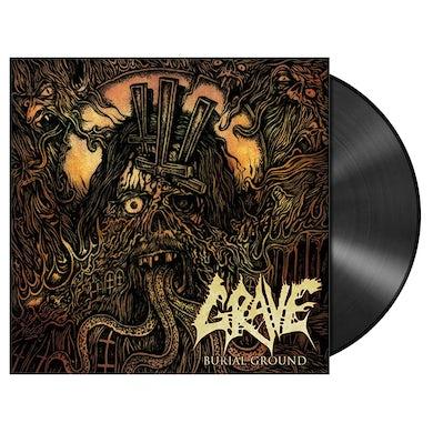 GRAVE - 'Burial Ground' LP (Vinyl)