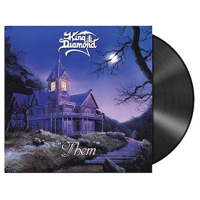 KING DIAMOND - 'Them' Re-Issue Black LP (Vinyl)