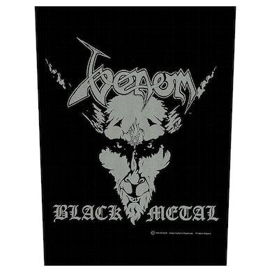 VENOM - 'Black Metal' Back Patch