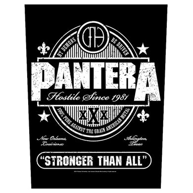 PANTERA - 'Stronger Than All' Back Patch