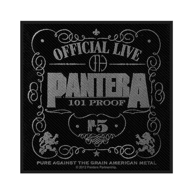 PANTERA - 'Official Live: 101 Proof' Patch