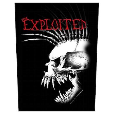 THE EXPLOITED - 'Bastard Skull' Back Patch