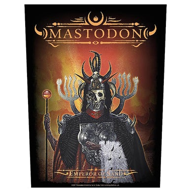 MASTODON - 'Emperor Of Sand' Back Patch