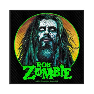 ROB ZOMBIE - 'Zombie Face' Patch