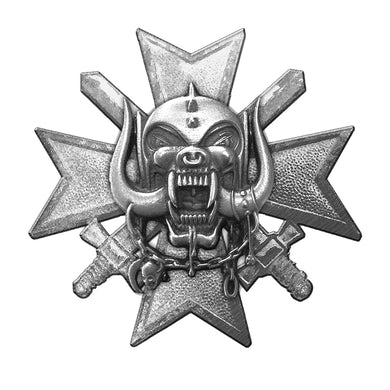 Motorhead MOTÖRHEAD - 'Bad Magic' Metal Pin