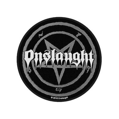 ONSLAUGHT - 'Pentagram' Patch