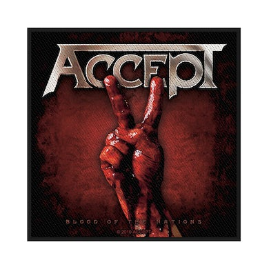 ACCEPT - 'Blood Of The Nations' Patch