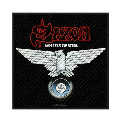 SAXON - 'Wheels Of Steel' Patch