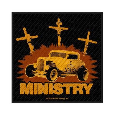 MINISTRY - 'Jesus Built My Hotrod' Patch