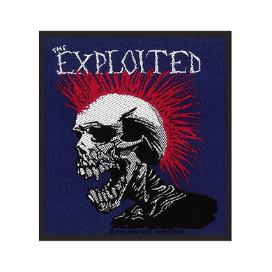 THE EXPLOITED - 'Mohican Multicolour' Patch