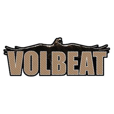 VOLBEAT - 'Raven Logo Cut Out' Patch