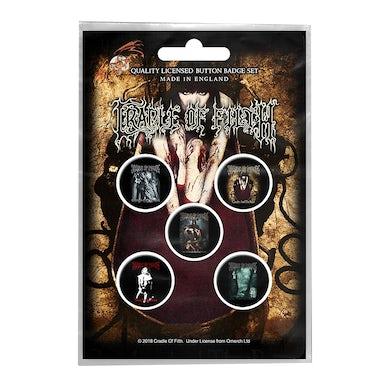 CRADLE OF FILTH - 'Albums' Badge Set