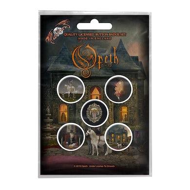 OPETH - 'In Caude Venenum' Badge Set