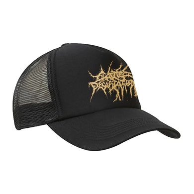 CATTLE DECAPITATION - 'Gold Logo' Trucker Cap