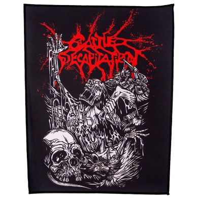 CATTLE DECAPITATION - 'Alone At The Landfill' Back Patch