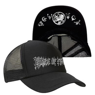 CRADLE OF FILTH - 'Logo' Trucker Cap