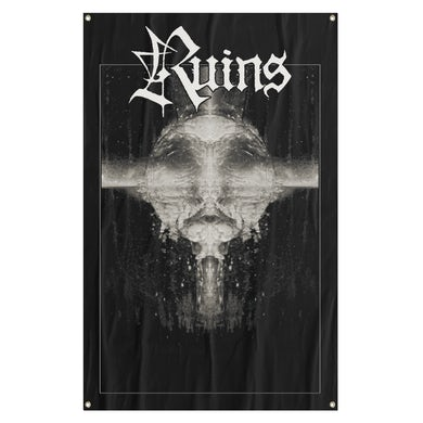 RUINS - 'Dripping Moon' Flag