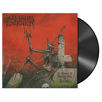 SADISTIK EXEKUTION - '30 Years Of Agonizing The Dead' LP (Vinyl)