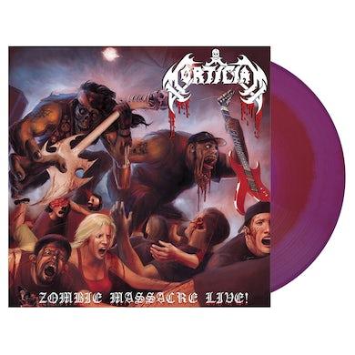 MORTICIAN - 'Zombie Massacre Live' LP (Vinyl)