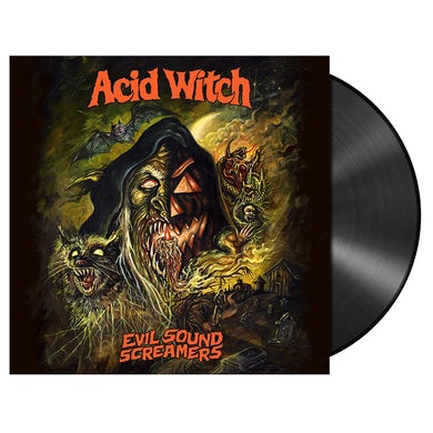ACID WITCH - 'Evil Sound Screamers' LP (Vinyl)
